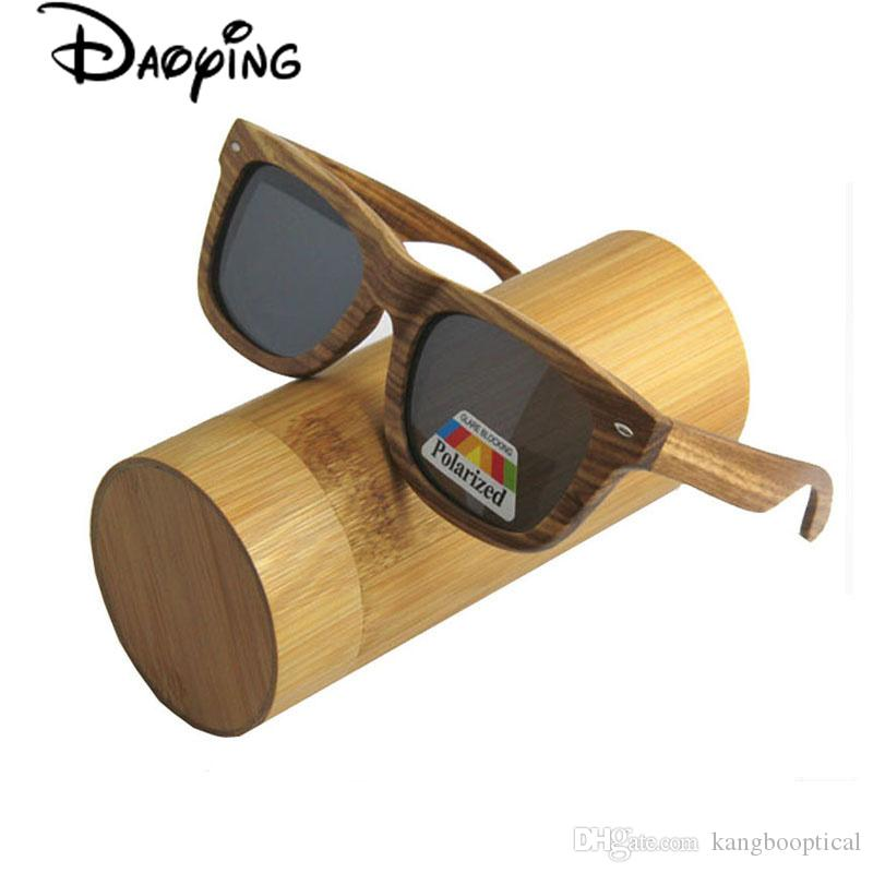 7b2032413b4 New High Quality Wood Sunglasses So Real Bamboo Wood Sunglases Men Women  Polarized Goggle Driving Glasses Retro Shade Uv400 Protection CE Super  Sunglasses ...