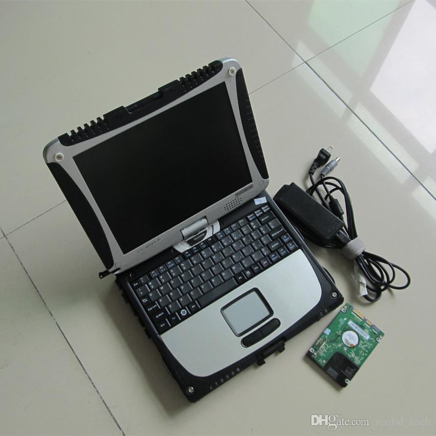 pour mb star sd connecter c4 diagnostiquer avec 320gb hdd ensemble complet avec ordinateur portable cf19 outil de diagnostic à écran tactile