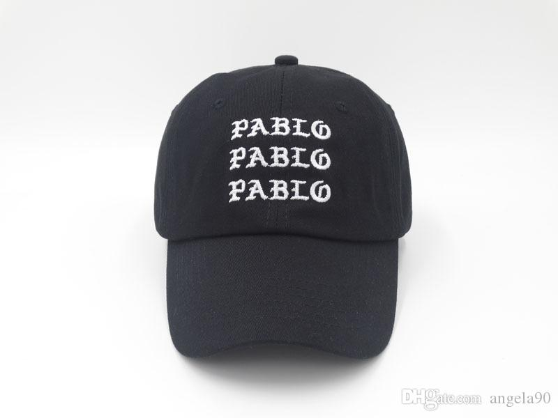 b7f96fe5b26 2017 Fashion Golf Swag Cap Casquette I Feel Like Pablo Cap Real Friends Dad  Hat Baseball Cap Kanye West Drake Yeezus 6 Panel Hat Custom Hat Caps For  Men ...