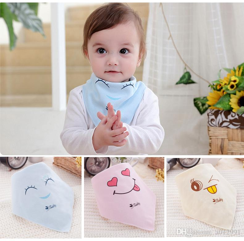 Lätzchen 4er Set Babylätzchen Mädchen Jungen Farben Baumwolle NEU