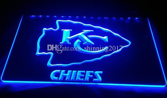 2019 Ls844 B Kansas City Chiefs Espn Bar Neon Light Sign Decor