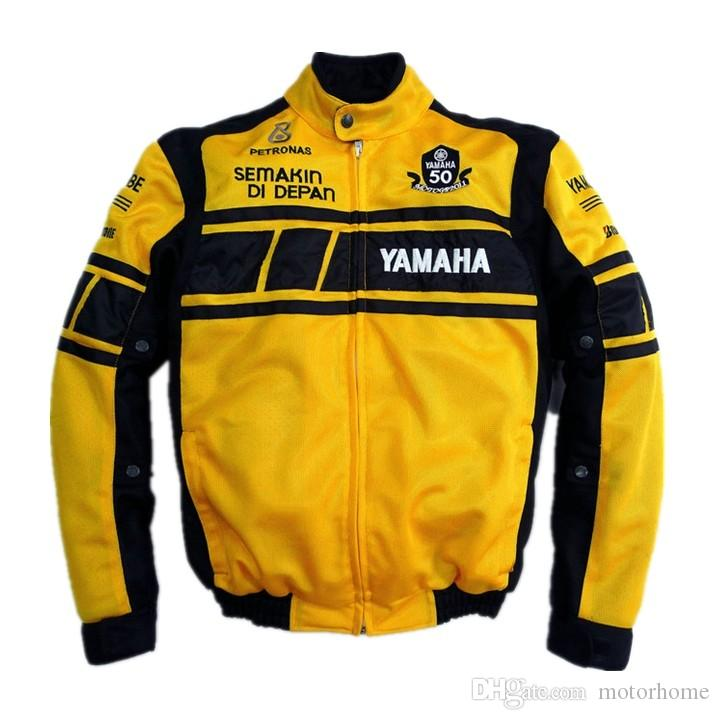 2017 Wholesale New Style Yamaha Arrival Motorcycle Jacket Racing Autorcycle Motor Jacke Summer Breathable Black Yellow From Motorhome