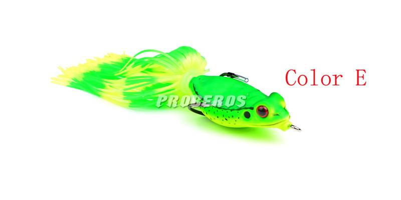 New Artificial Ray Frog Lure Floating Freshwater Fishing Artificial bait 8g 10cm Topwater pesca fishing Soft baits
