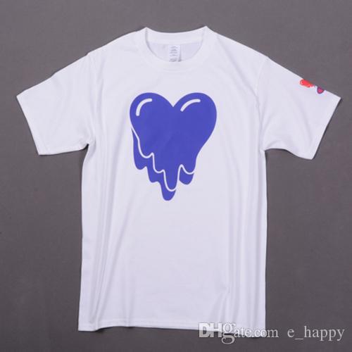 New Design T Shirt Melting Heart Print White T Shirts Short Sleeve Crew  Neck Cool Summer Tees Emotionally Unavailable Streetwear Llwf0521 Good T  Shirt ...