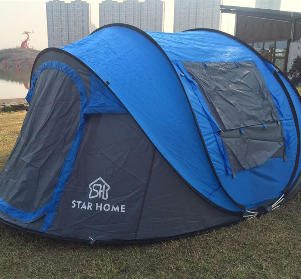 Wholesale Star Home Instant Pop Up Tent 3 4 Person Easy Set Up C&ing Hiking Tent Family C&ing Tent Sunnc& Tents From Vanilla12 $153.02| DHgate.Com & Wholesale Star Home Instant Pop Up Tent 3 4 Person Easy Set Up ...