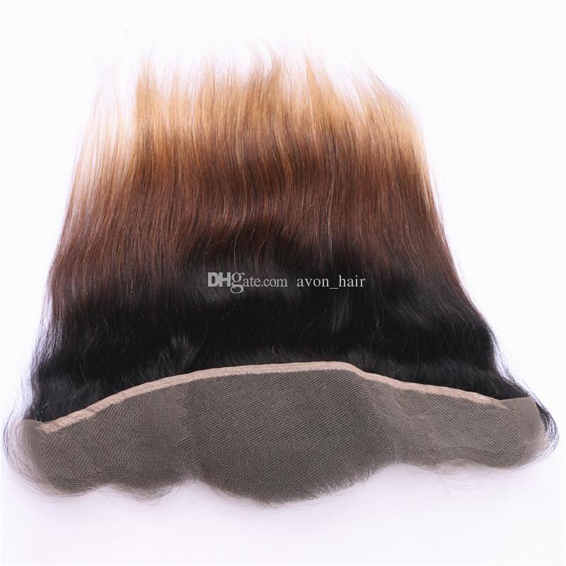 Милая блондинка 1б 4 27 волос пучки с кружева фронтальная с ребенком волос Ombre 1б 4 27 волосы с фронтальной уха до уха