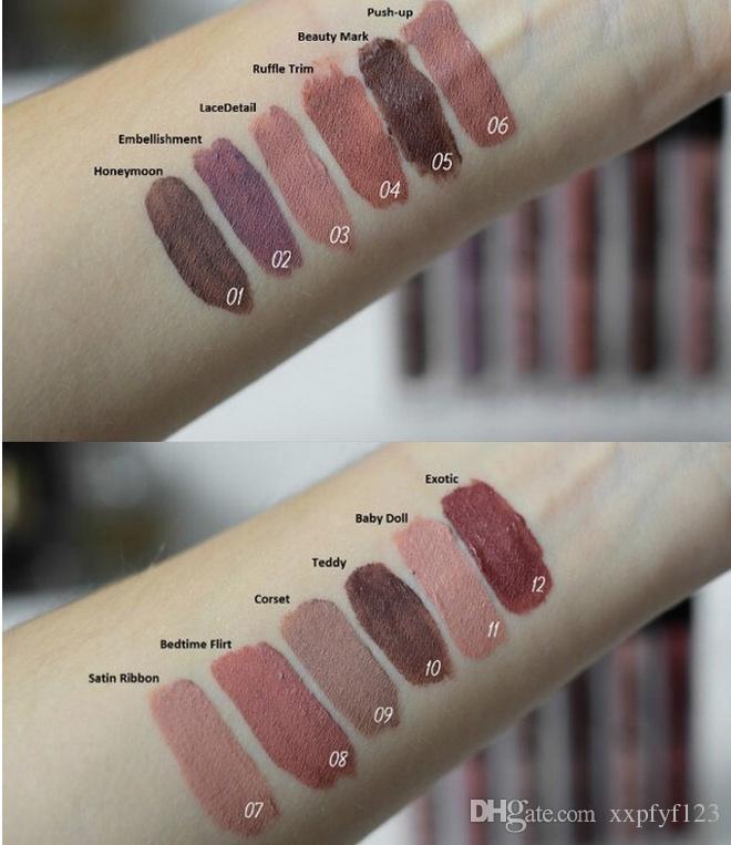 NYX LIP GLOSS NEW MAKEUP NYX LIP LINGERIE MATTE Nude velvet liquid lipstick / lipgloss B758