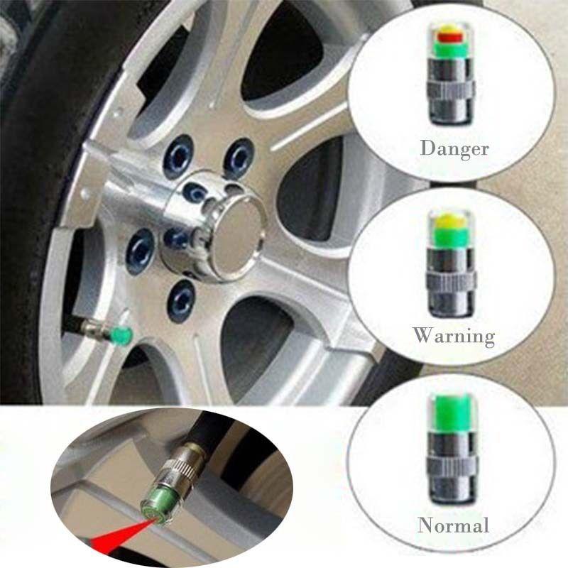 Mini 2.4Bar Cubiertas de Presión de Neumáticos de Neumáticos de Coche TPMS Herramientas Monitor de Advertencia Indicador de Válvula de Diagnóstico Herramientas de Diagnóstico accesorios