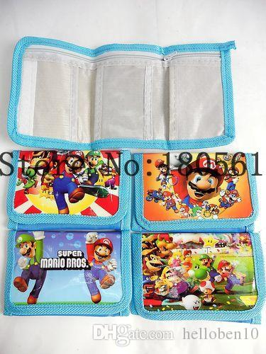 Toptan Satış - Mario Comic Çanta cüzdan Cüzdanlar Büyüleyici 1 zip ücretsiz kargo jk8