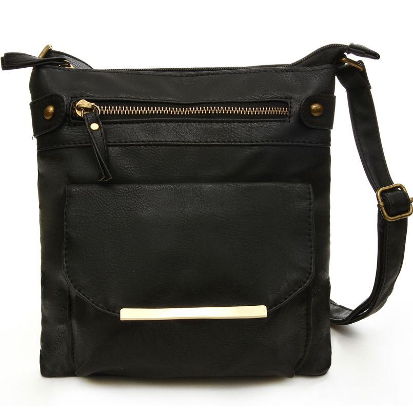 Jiessie & Angela Hot Sale Women Bag PU Leather Bag For Women Vintage Messenger Bag Casual Handbag Cross Body Shoulder Purse