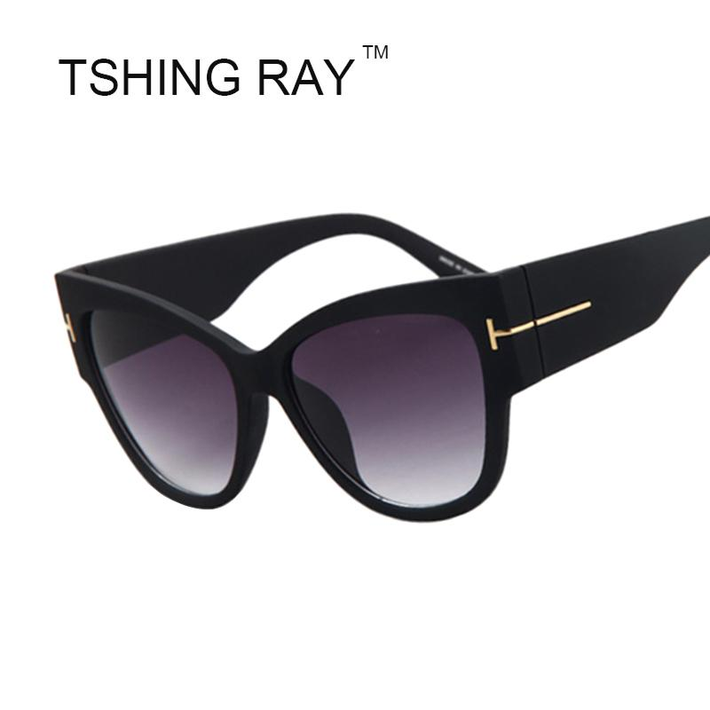 d99e74d32c Wholesale 2016 New Gradient Points Sun Glasses Tom High Fashion Designer  Brands Sunglasses For Women Cat Eye Sunglasses Female Oculos Smith  Sunglasses ...
