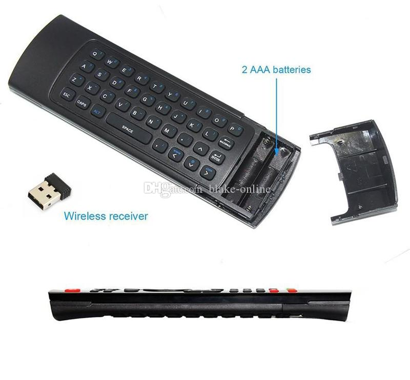 Air Fly Mouse MX3 2.4GHz Wireless Smart Keyboard Remote Control IR for Android TV Box