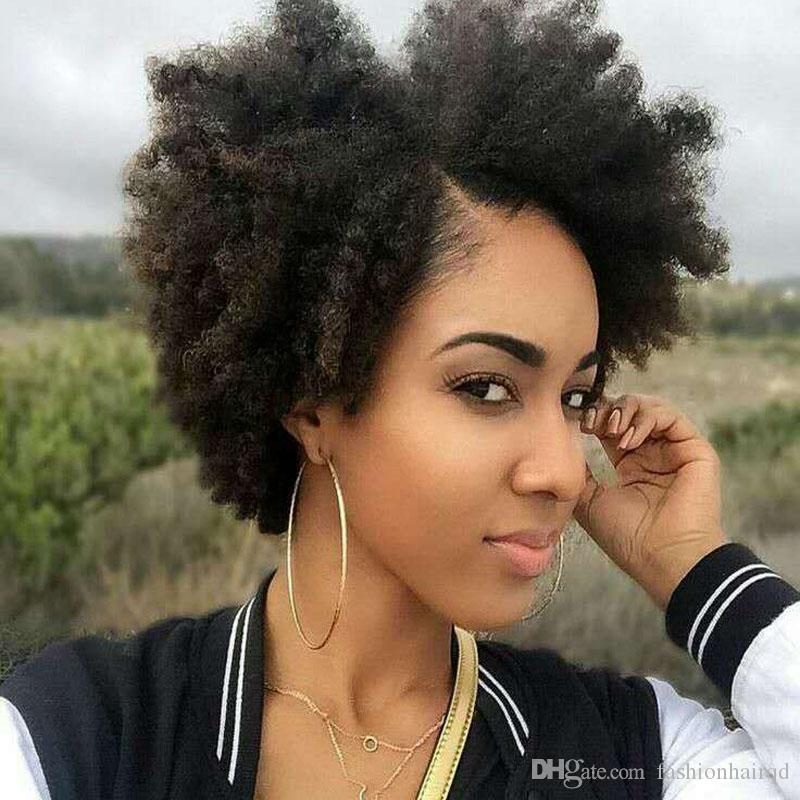 Afro Kinky Curly Lace Front Human Hair Wigs For Black Women Indian Virgin Hair Kinky Curly Glueless Full Lace Wigs 8-24 inch