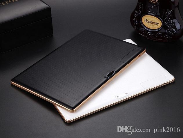 10 pollici 1280 * 800 risoluzione Android tablet IPS HD quad-core ultra-sottile MTK6582 1 + 16 GB di memoria Dual Card chiamata 3G doppia scheda dual standby