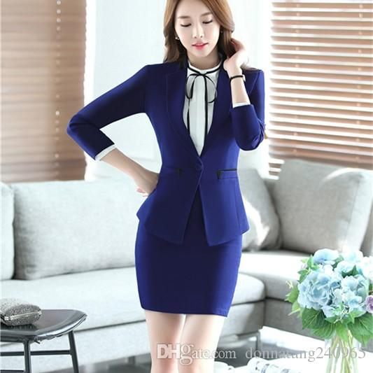 055f81ba30c7 2019 2017 Womens Formal Work Clothes Suit And Lady Casual Business Office  Pants Set Fashionable Ladies Suits Office Workwear From Donnatang240965, ...