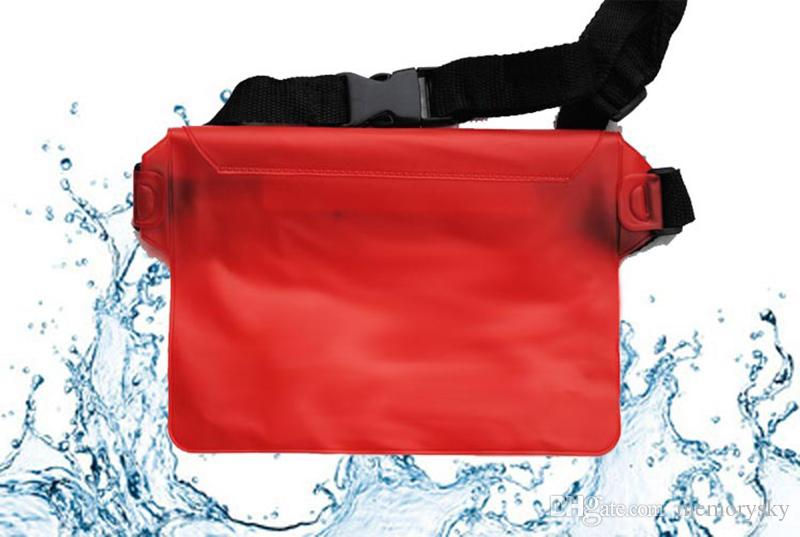 Best Choice For Universal Waist Pack Waterproof Pouch Case Water Proof Bag Underwater Dry Pocket Cover For Cellphone mobile phone Samsung ip