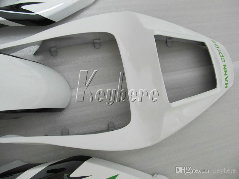 Kit de carenado de plástico ABS para yamaha YZF R1 98 de carenados verde negro blanco YZF R1 1998 1999 IY27