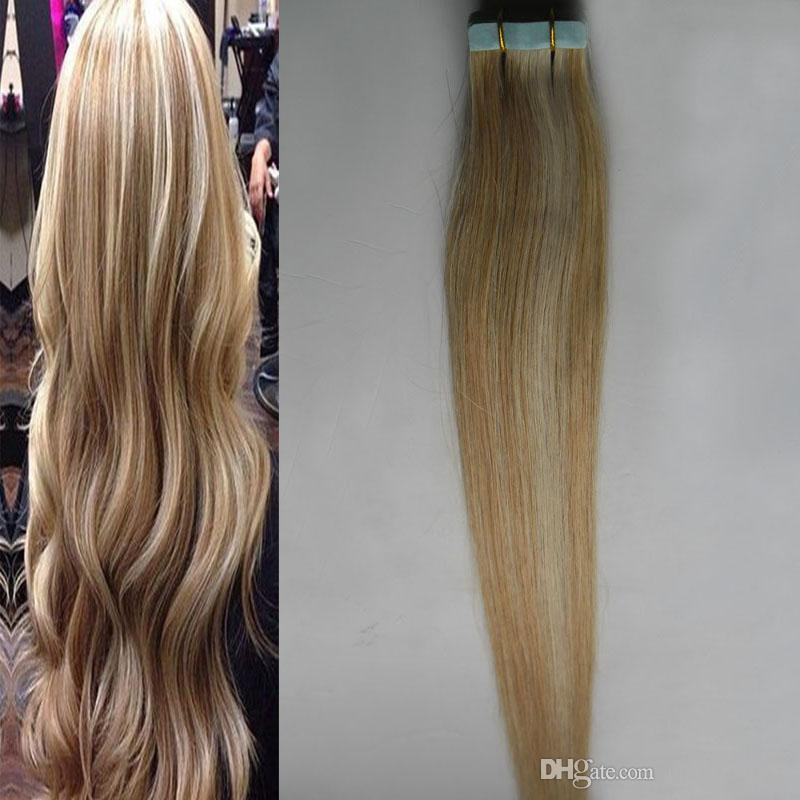 Piano color 27613 blonde human hair tape extensions remy human piano color 27613 blonde human hair tape extensions remy human hair extensions adhesive 100g skin weft seamless auburn hair extensions tape extensions from pmusecretfo Gallery