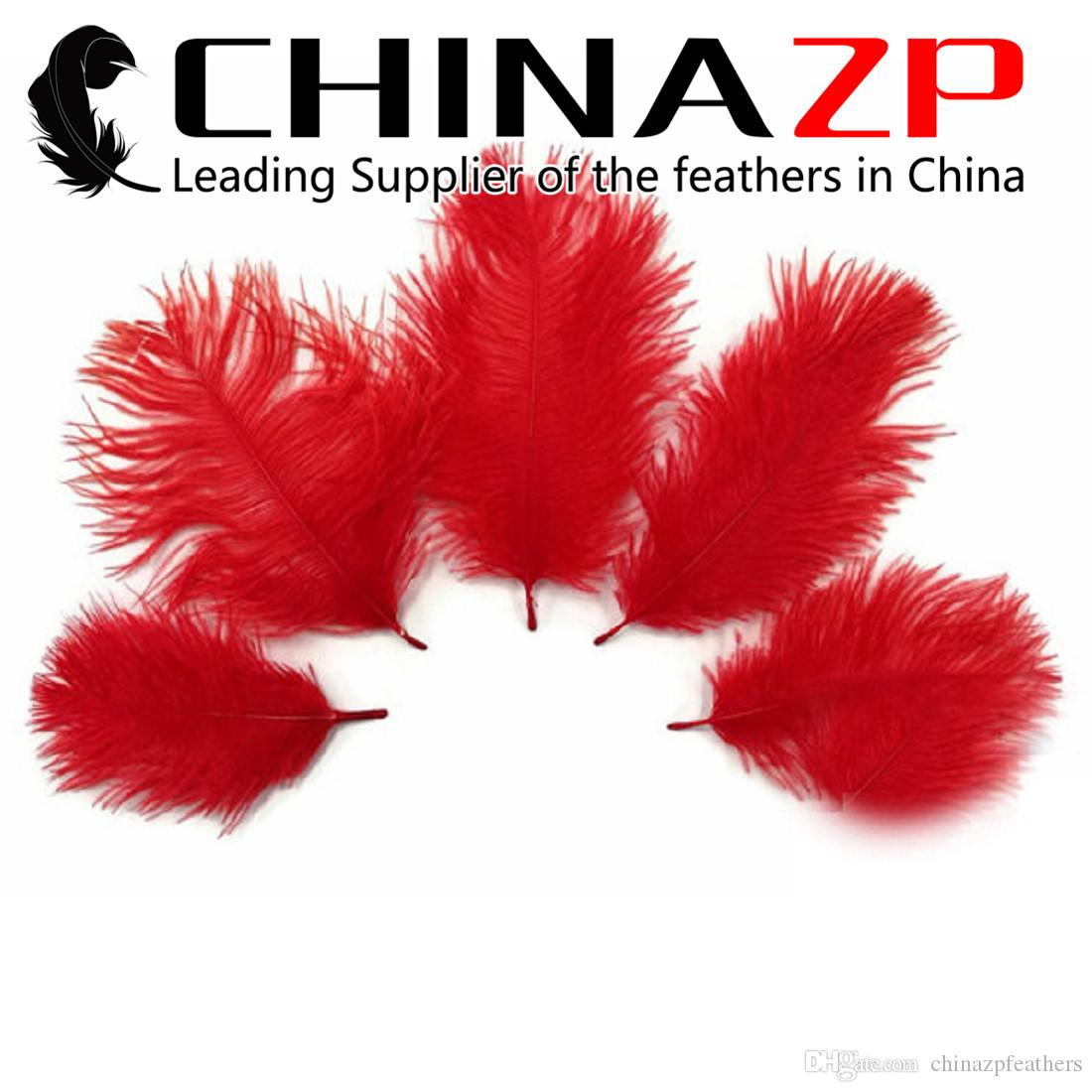 Leading Suppliers CHINAZP 15~20cm(6inch to 8inch) Length Multicolor Ostrich Feather Plumes for Wedding Party Decoration
