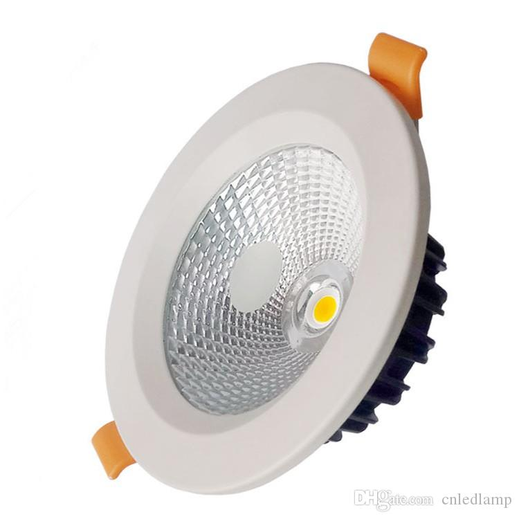 3-30W Recessed LED Ceiling Light Bridgelux COB LED Downlight 2.5-8 Inch Round Ceiling LED Downlight with 60 Viewing Angle and Factory Price