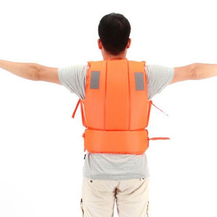 Survival Boat Sail Life Gilet Hommes Kayak Nager Travailler Bulles Vestes Maillot De Bain Sauvetage Avec Sifflet Gilet De Sauvetage Pour Adulte Livraison Gratuite