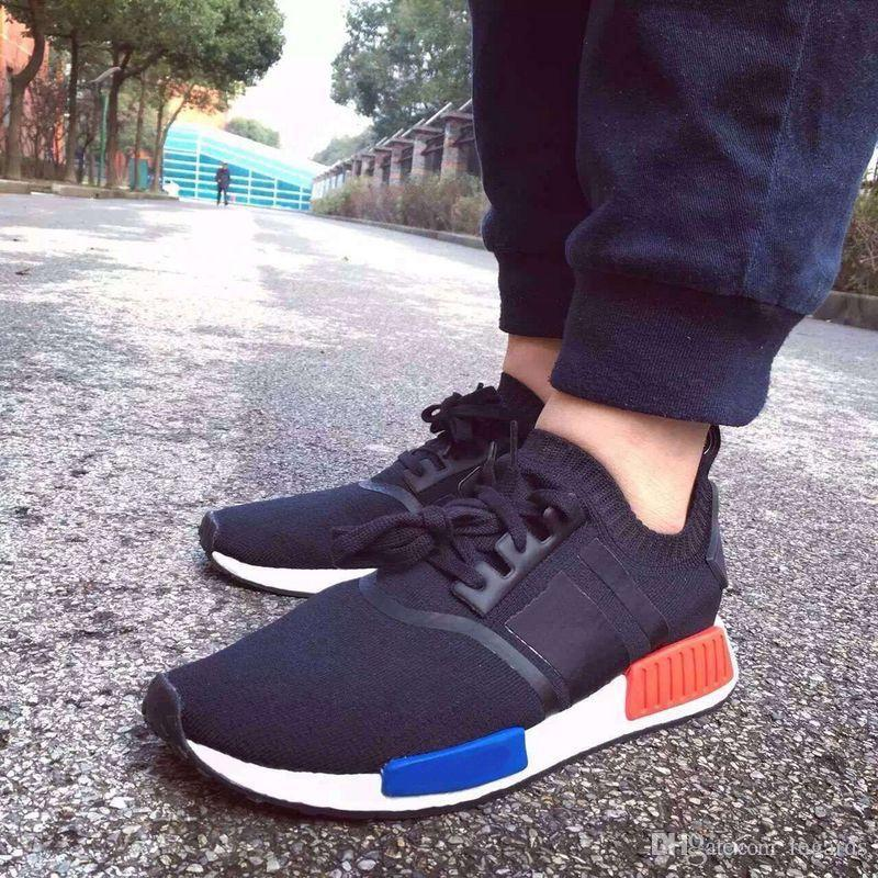 Wholesale Brown Mens Black Adidas Nmd Pk Runner Shoes