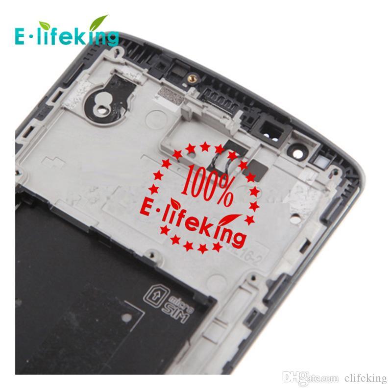 Original LCD mejor calidad para LG G3 D855 D850 pantalla LCD de pantalla táctil Asamblea Asamblea reemplazo sin marco Envío gratis