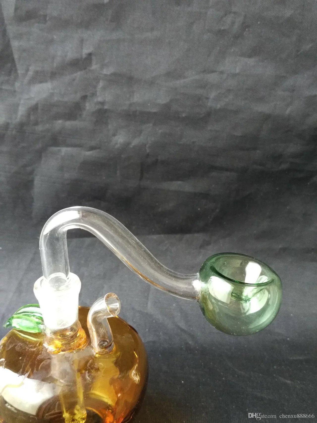 비둘기 팡 봉 액세서리, 유리 물 파이프 담배 파이프 여과기 유리 봉 석유 버너 물 파이프 Dougper