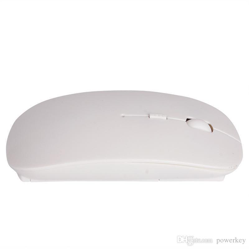 Color de caramelo de alta calidad Color de caramelo Ultra delgado Ratón inalámbrico y receptor 2.4G USB Óptico Oferta especial Oferta de ratón del ratón de la computadora