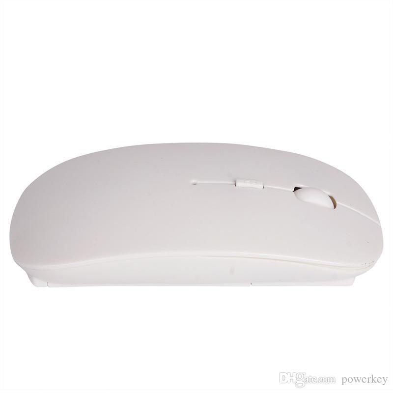 Hochwertige Süßigkeitfarbe ultra dünne drahtlose Maus und Empfänger 2.4G USB optische bunte Sonderangebotcomputermaus