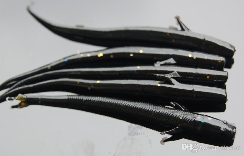 Soft Lures Shad Bass Rubber Bionic Fly Fishing Lure Artificial Bait Wobbler Fake Fish Smell Worm Pesca Fishing Tackle Box