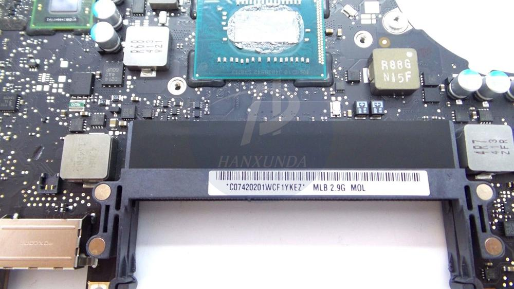 """Motherboard core i7 2.9GHz for MacBook Pro 13"""" A1278 Logic Board Mid 2012 year 820-3115-B MOQ:"""