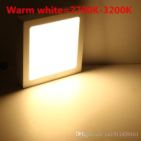 9W 15W 25W 30W Square Led Panel Light Surface Mounted Downlight lighting Led ceiling down AC 110-240V + Driver