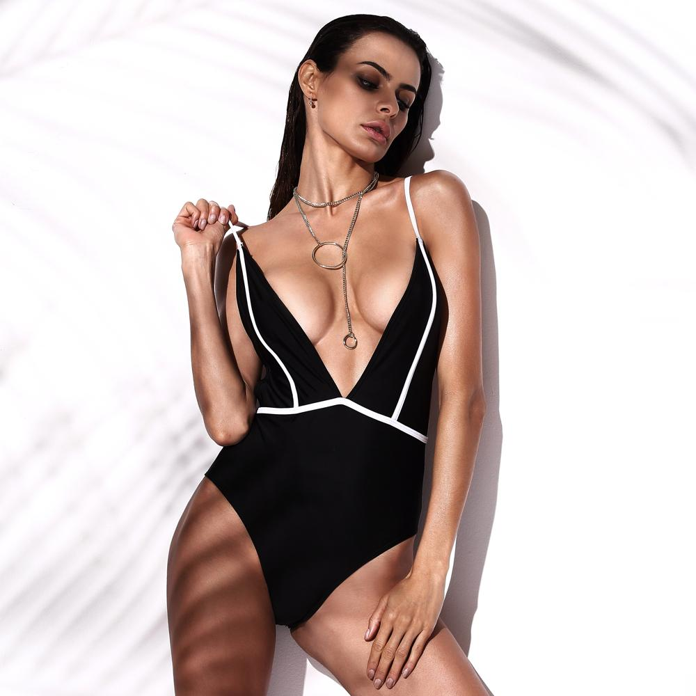Maillots De Bain Femmes Sexy One Piece Maillot De Bain Body Push Up Maillot De Bain 2017 Monokini Maillot De Bain Femme Maillot De Bain Maillots De Bain