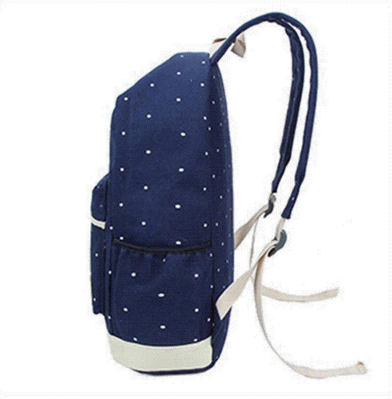 3888ec06048 Canvas Printing Backpack Women School Bags for Teenage Grils Casual Travel  Bags Cute Rucksack Vintage Laptop Backpacks Wholesale School Bags School  Bags for ...