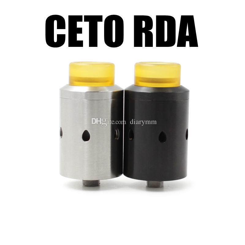 CETO RDA Cthulhu MOD Replaceable Atomizer Adjustable Airflow the best flavor RDA with Big Cloud Compatible 810 Kennedy Goon Drip Tip DHL