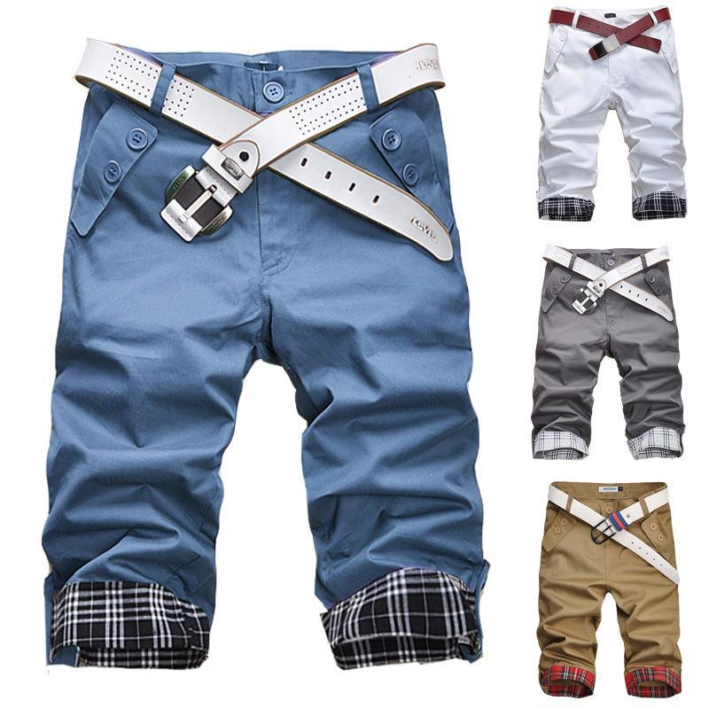 19ea1ba873 New Men's Camouflage Cargo Fashion Short Pant Man Pockets Loose ...