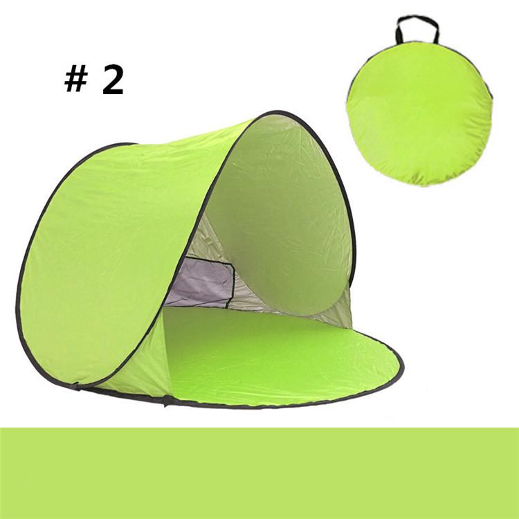 Quick Automatic Opening Outdoors Tents 50+ UV Protection Outdoor Gear Camping Shelters Tent Beach Family Travel Lawn Multi Color