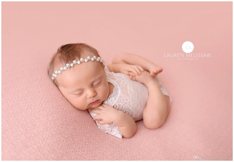 Yeni Yenidoğan Dantel Tulum Bebek Fotoğraf Sahne Giyim Sevimli Yürüyor bebek Kostümleri Yüz Amaterasu Bebekler Kız Romper Beyaz Siyah A6252
