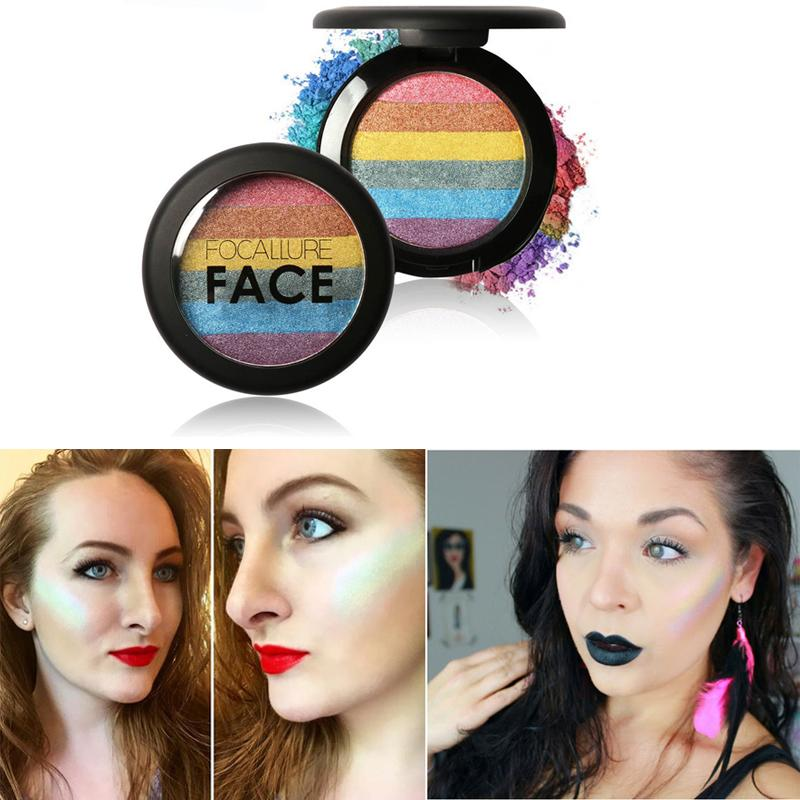 Wholesale 6 Mix Colors Highlighter Makeup Face Blusher Eyeshadow ...