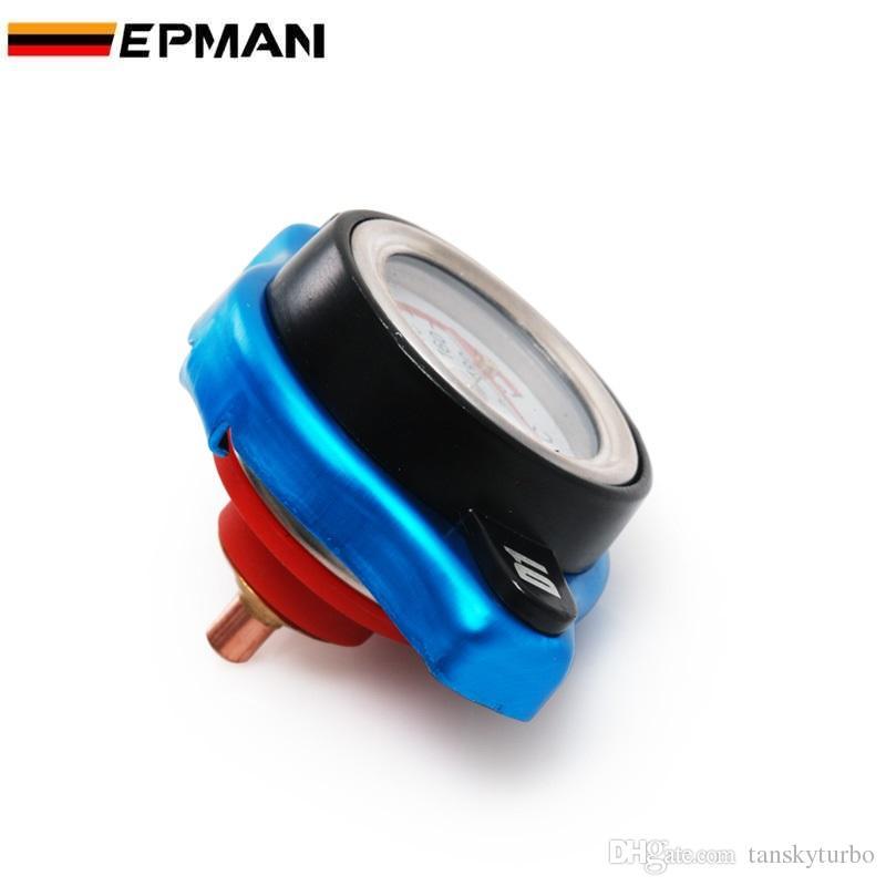 D1 Spec Racing Thermost Radiator Cap Cover + Water Temp gauge 0.9 bar/1.1bar/1.3bar Universal Small Head D1-SXG09