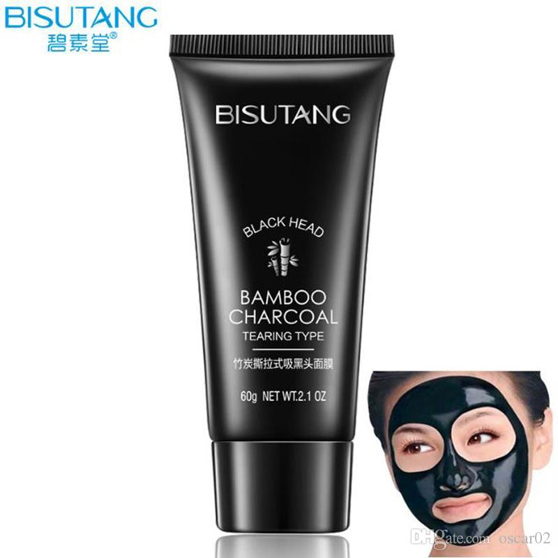 Bisutang Bamboo Charcoal Face Careremove Blackheads Acne Treatment