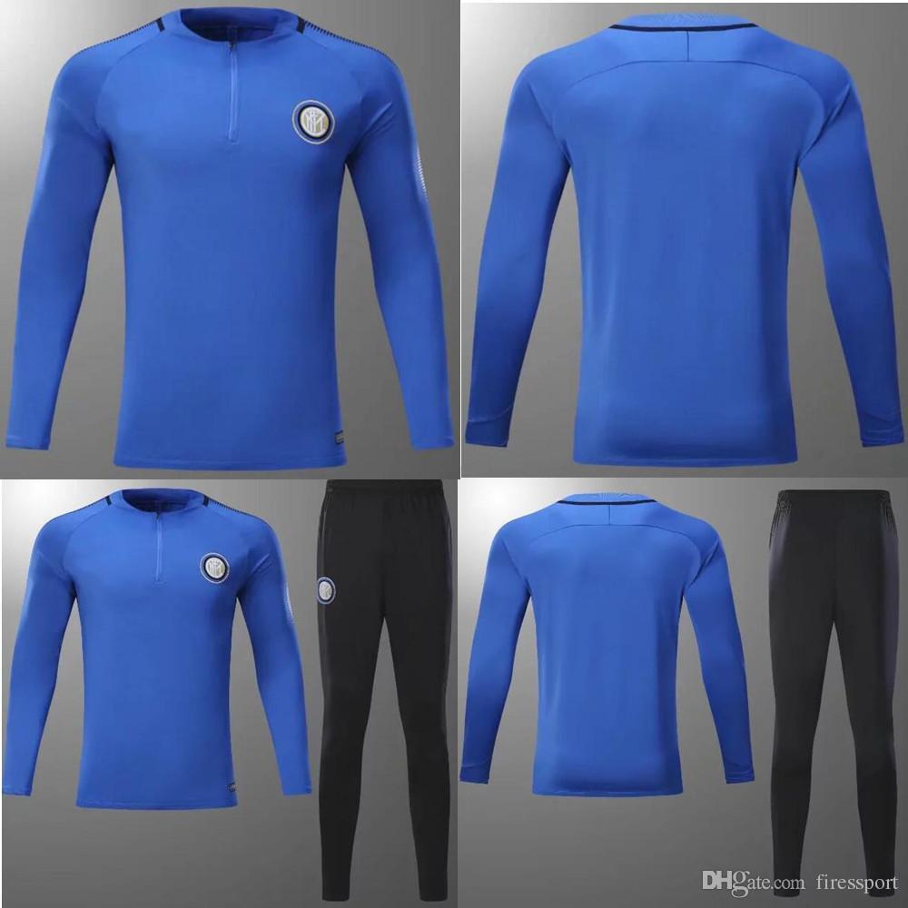 Extrêmement AAA+quality 2017 2018 Inter Football Jacket Tracksuit 17 18 ICARDI  HI72