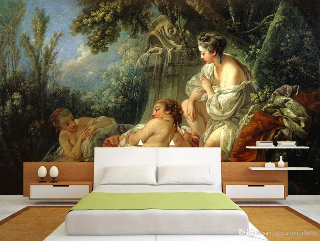 Photo Wall Mural High Definition Classical Beauty Painting Living Room 3d Wallpaper Decorative Background From Yeyueman6666 17 09 Dhgate Com
