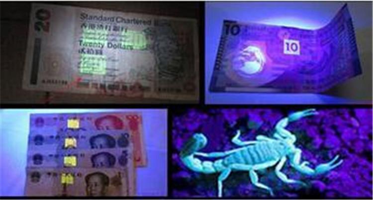 9 светодиодных мини алюминиевый ультрафиолетовый ультрафиолетовый 9 светодиодный фонарик Blacklight факел лампы 50 шт. Свободный корабль