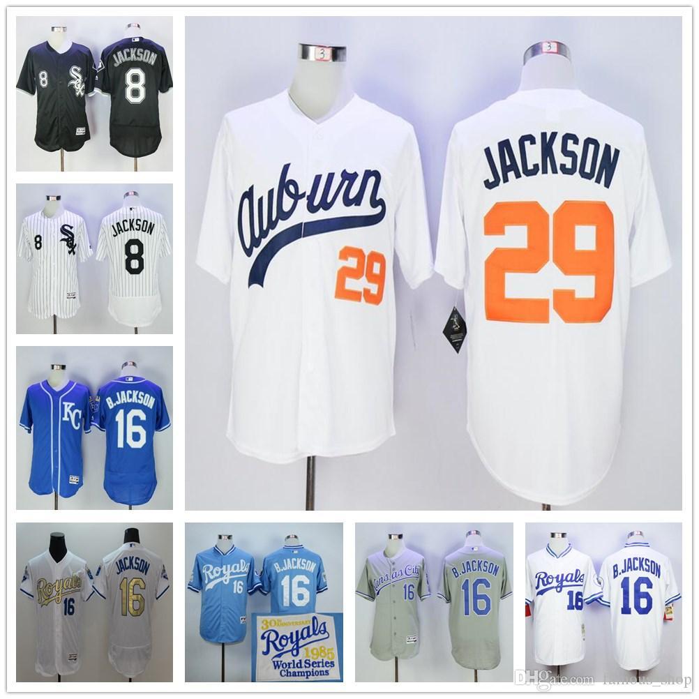 a6bee199e ... france mlb cool base 2017 wholesale 16 bo jackson jersey cheap kansas  city royals baseball 1985