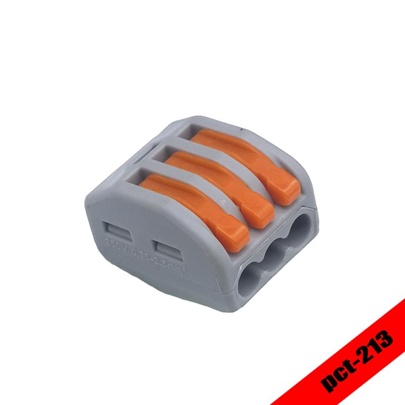 2018 Wago 222 413 Universal Compact Wire Wiring Connector 3 Pin ...