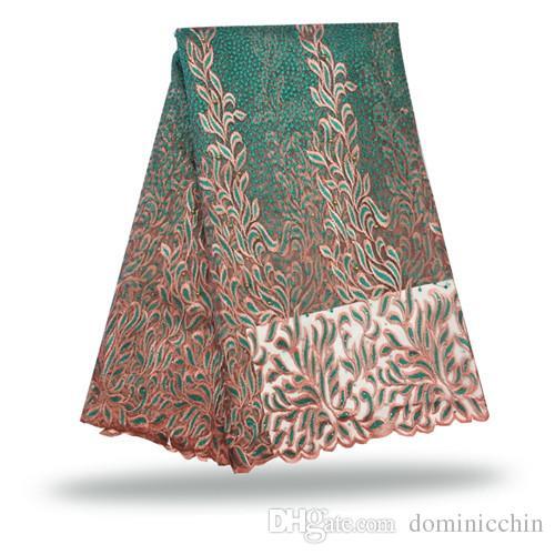 FCT 024 5 yards / Freies verschiffen tüll net spitze stoff, Neue kommende gestickte mesh spitzentuch für hochzeitskleid