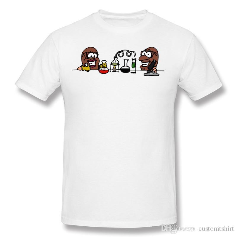 chemical experiment t shirt plus size teenage exercise man