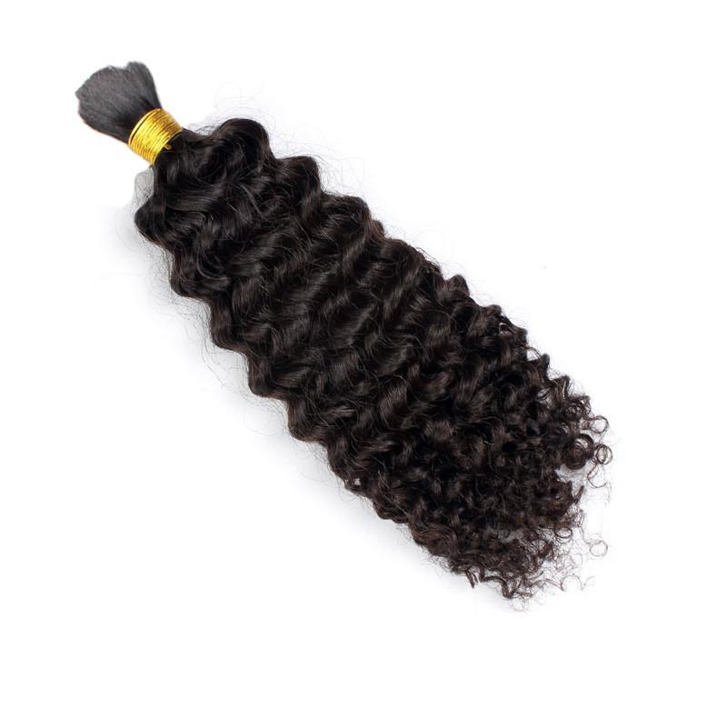 sacco 8A brasiliano non trattato Afro crespo ricci umani intrecciare i capelli dei capelli apparente Nessun di trama African American naturale dei capelli neri